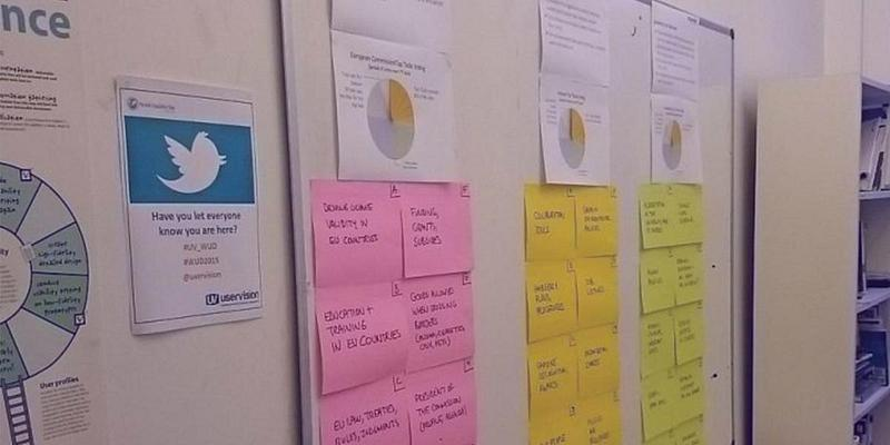 Photo of the Top Tasks board