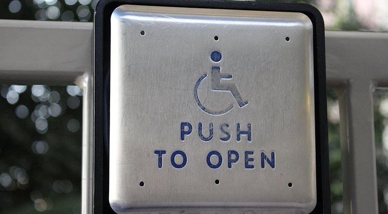 Push To Open disabled button